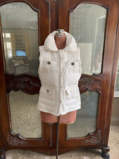 Women's Juicy Couture Quilted Down Vest (M)