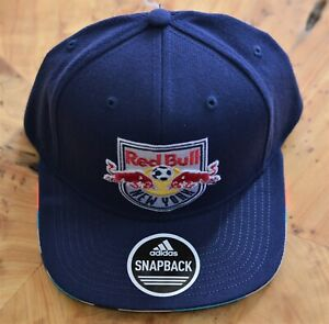 Brand New Adidas New York Red Bulls Snapback Hat Cap Vy54Z Official MLS