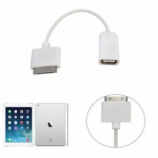 30-Pin OTG to USB Female Adapter Data Cable Kit Connect for iPad 2 3 New iPad