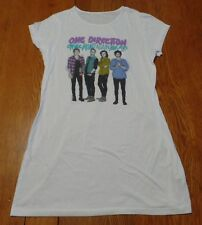 #3393-6 One Direction On The Road Tour 2015 Extra-Long Cap Sleeve Tee W-S