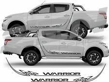 Mitsubishi L200 Warrior Triton Side Tribal  stickers decals Graphics 2015 on