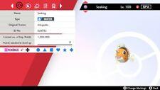 NEW ISLE OF ARMOR Pokemon Sword and Shield-✨Shiny ✨ 6IV Seaking w/ Pokerus