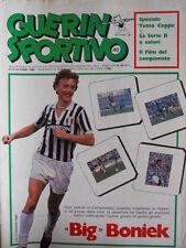 Guerin Sportivo n°40 1982 Giorgio Chinaglia Cosmos - Film campionato  [GS46]