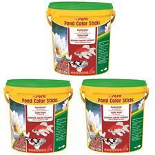 30 L - sera pond color sticks - Fischfutter Gartenteich, Goldfische - 3 Eimer
