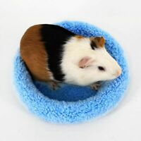 Soft Fleece Guinea Pig Bed Winter Small Animal Cage Mat Hamster Sleeping Nest