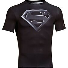 NEW MEN'S UNDER ARMOUR ALTER EGO SUPERMAN COMPRESSION T-SHIRT ~LG