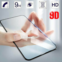 9D Curved Film Tempered Glass Screen Protector Cover for iPhone 7 6 6S 8 Plus X