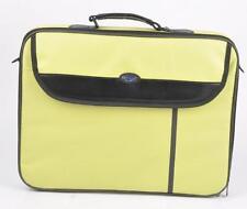 "15.6"" Laptop Widescreen Borsa Custodia di trasporto NOTEBOOK CINGHIA A TRACOLLA VERDE"