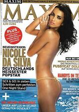 Maxim Germany - 2006/11 Nicole da Silva Eugenia Doretskaya Nicole Scherzinger