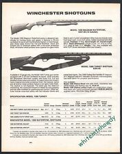 1991 WINCHESTER Model 1300 Magnum Waterfowl, Turkey Shotgun AD