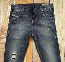 $278 NEW Diesel Jeans KRAYVER W26/WAIST ACROSS 14 1/2xL32 Reg.Slim-Carr 100% Co