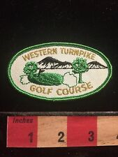 Vtg WESTERN TURNPIKE GOLF COURSE Schenectady New York Patch 60E9
