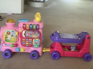 Vtech Baby Toddler Push And Ride Alphabet Train Educational Learning Toy