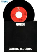 """QUEEN - CALLING ALL GIRLS - USA 7"""" inch vinyl single NM ARCHIVE QUALITY lp cd 12"""