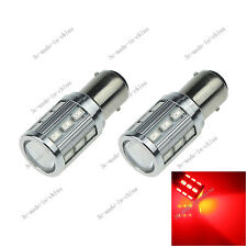 2X Red 1157 BAY15D 18 5630 1 Cree Q5 LED Car Signal Rear Light Bulb Lamp E070