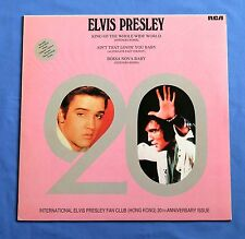 ELVIS PRESLEY King Of The Whole Wide World Rare HONG KONG FAN CLUB 12'' Record