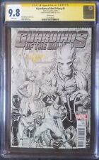 Guardians of the Galaxy (2015 4th Series) #1 Sketch CGC SS 9.8 1:100 1x Adams