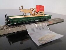Märklin 48414 Weihnachtswagen 2014 mit Rentierschlitten, neu OVP, frei Haus (D)