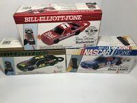 VTG NASCAR Fone Phone Lot Of 3 Bill Elliot Kyle Petty New