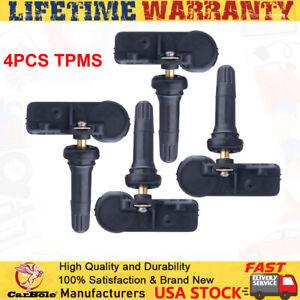 4PCS 68241067 Tire Pressure Sensor TPMS for Jeep Wrangler Chrysler Ram Charger