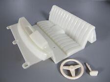 Tamiya 1/10 RC Toyota Hilux Bruiser seat steering wheel clear Window Windshield