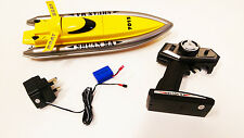 Remote Control RC 2.4ghz 7013 Twin Motor Racing High Speed Flying Fish SpeedBoat