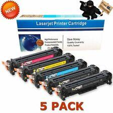 5P for HP LaserJet Pro M375nw M451 M451dn M475dw MFP Color Toner CE410A 305A ink