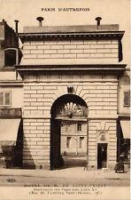 CPA PARIS (8e) Rue du Faubourg-Saint-Honore. Hotel de M de Saint-Priest (534579)
