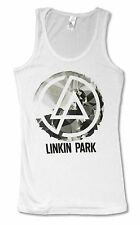 """LINKIN PARK """"PERSPECTIVE"""" WHITE JUNIORS BAND TANK TOP T-SHIRT NEW OFFICIAL LARGE"""