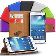 Samsung Galaxy S4 Mini Handy Klapp Tasche Schutz Hülle Book Flip Cover Case Slim