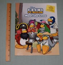 BOOK SC Disney Club Penguin - Meet the Crew - Sticker Book 2011