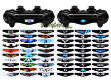 60 Pcs LED Light Bar Cover Decals Stickers for Sony PS4 Pro Slim Game Controller