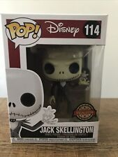 Jack Skellington With Snowflake Funko Pop! #114 Disney Exclusive. U.K. In Hand