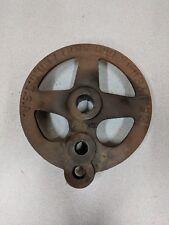 Vintage F.E. MYERS & BRO Cast Iron Part,Pump Jack?, Farm Decor,# 2454