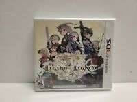The Legend of Legacy (Nintendo 3DS) BRAND NEW SEALED ATLUS