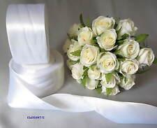 SALE~~EXCESS STOCK~White Wedding Satin Bridal Car/Truck/4x4 Ribbon 5cm x 22m*~