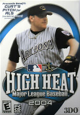 HIGH HEAT: MAJOR LEAGUE BASEBALL 2004  -  PC GAME **** Brand New & Sealed ****