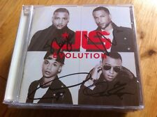 JLS - EVOLUTION  Cd SIGNED AUTOGRAPHED