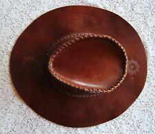 Original amerikanischer Westernhut, Leder, siehe Bild.