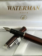 WATERMAN Fountain Pen Hemisphere Metalic  CT FP (METALIC BROWN)