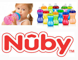 Nuby Step-2 Sippy Cup No Spill 10 oz BPA Free 6+Month Baby Infant NEW