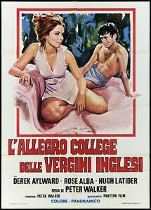THE CHEERFUL COLLEGE OF ENGLISH VIRGINS MANIFESTO SCHOOL FOR SEX MOVIE POSTER 2F
