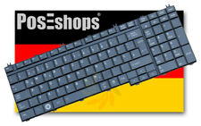 Orig. QWERTZ Tastatur Toshiba Qosmio X500 X 500 Series Schwarz Klavierlack Neu