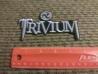 "Trivium Rock Band 5"" Sew or Iron on Patch NEW"