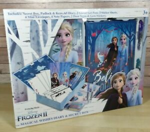 Disney Frozen 2 Magical Wishes Diary & Secret Box With Princess Elsa And Anna ❄️