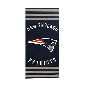 "New Football Team New England Patriots Beach Towel Bath 30'' x 60"" Licensed"