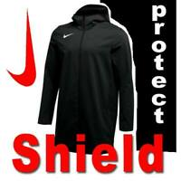 NIKE SHIELD PROTECT JACKET STREET WEAR PARKA WATER REPEL WOVEN HOODED LARGE TALL
