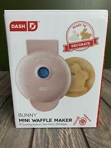 DASH Bunny Rabbit Mini Maker Waffle Pink NEW