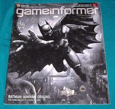 BUY 3=FREE SHIP GAMEINFORMER MAGAZINE BOOK 241 BATMAN ARKHAM ORIGIN DARK KNIGHT