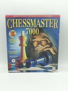 CHESSMASTER 7000 Computer Software 500,000+ Game Database Windows 95/98 16bit SC